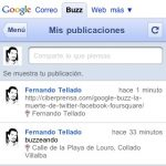 Enviar a Google Buzz desde WordPress