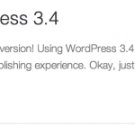 WordPress 3.4 beta 1 listo para probar