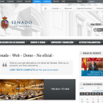 web alternativa senado españa