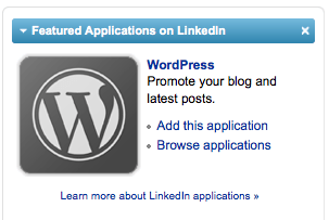 wordpress app destacada linkedin