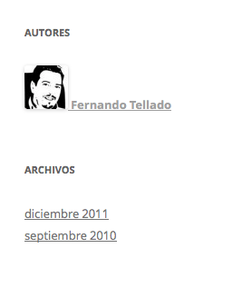 widget autores en blog