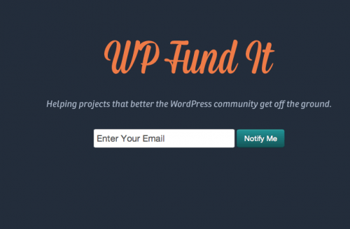 wp fund it