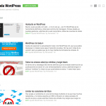 Ayuda WordPress en Feedly (extractos)