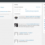 escritorio wordpress 3.8